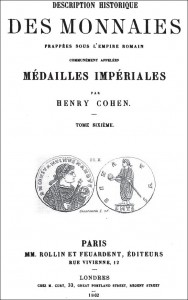 cohen-description-historique-des-monnaies-frappees-sous-l-empire-romain-communement-appelees-medailles-imperiales-tome-vi
