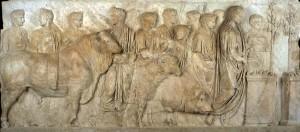 Plutei Traiano: suovetaurile