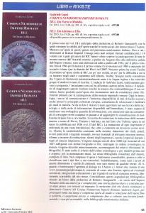 """Rivista bimestrale """"Monete Antiche"""": recensione CNIR"""