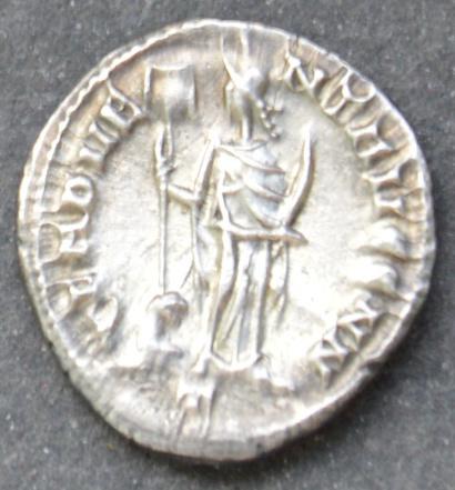 Argenteo di Costanzo della zecca do Cartagine: 296-298, rovescio