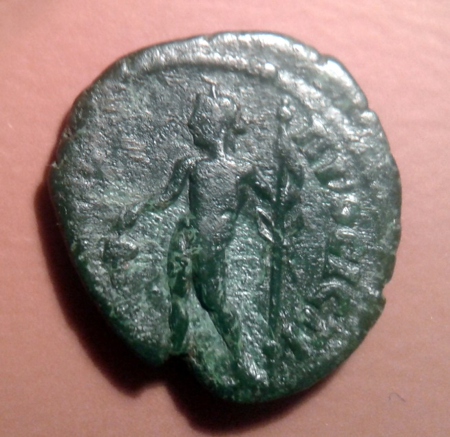Medio bronzo della zecca provinciale di Galatia: Faustina II, rovescio